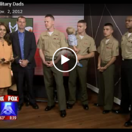 Dr. Singley is interviewed regarding new dads in the military